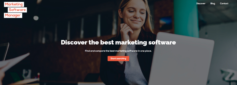 Marketing Software Manager website