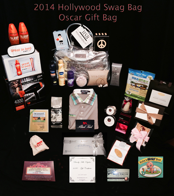 2014 Hollywood Swag Bag Four Seasons Gift Bag for Oscars