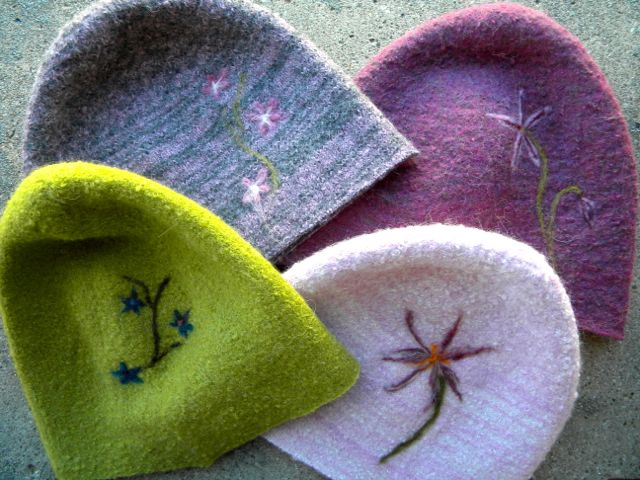 Felted Alpaca Beanies as gifted at the Official Gift Lounge of the 46th Annual CMA Awards