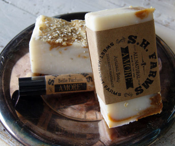 Amore Handcrafted All Natural Artisan Soap