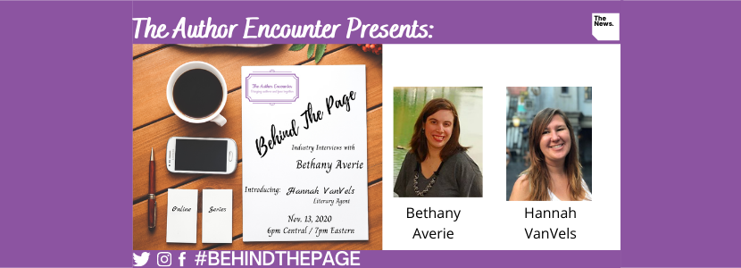 image for Behind the Page with Bethany Averie