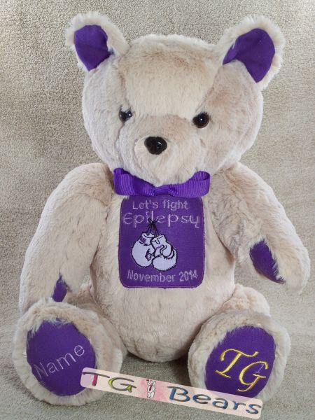 E-Bear 2014 raising Epilepsy Awareness