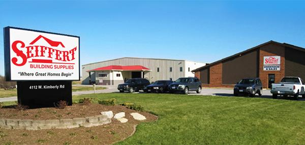 Seiffert Lumber Design Center and Warehouse