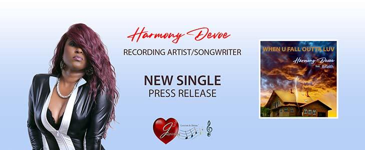 Harmony Devoe New Single Press Release