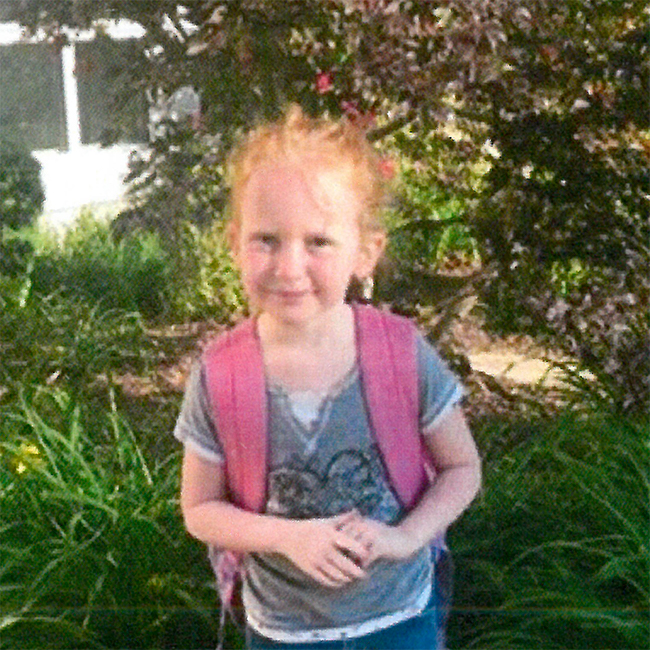 TPA grant recipient Lily, age 5, is from Ferguson, Mo.