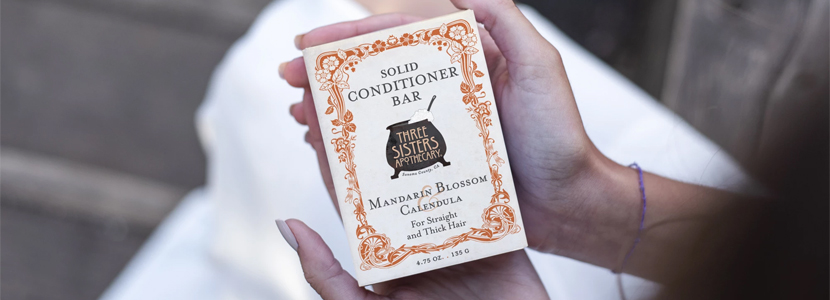 Three Sisters Apothecary Solid Hair Conditioner Bar