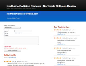 Northside Collision Reviews