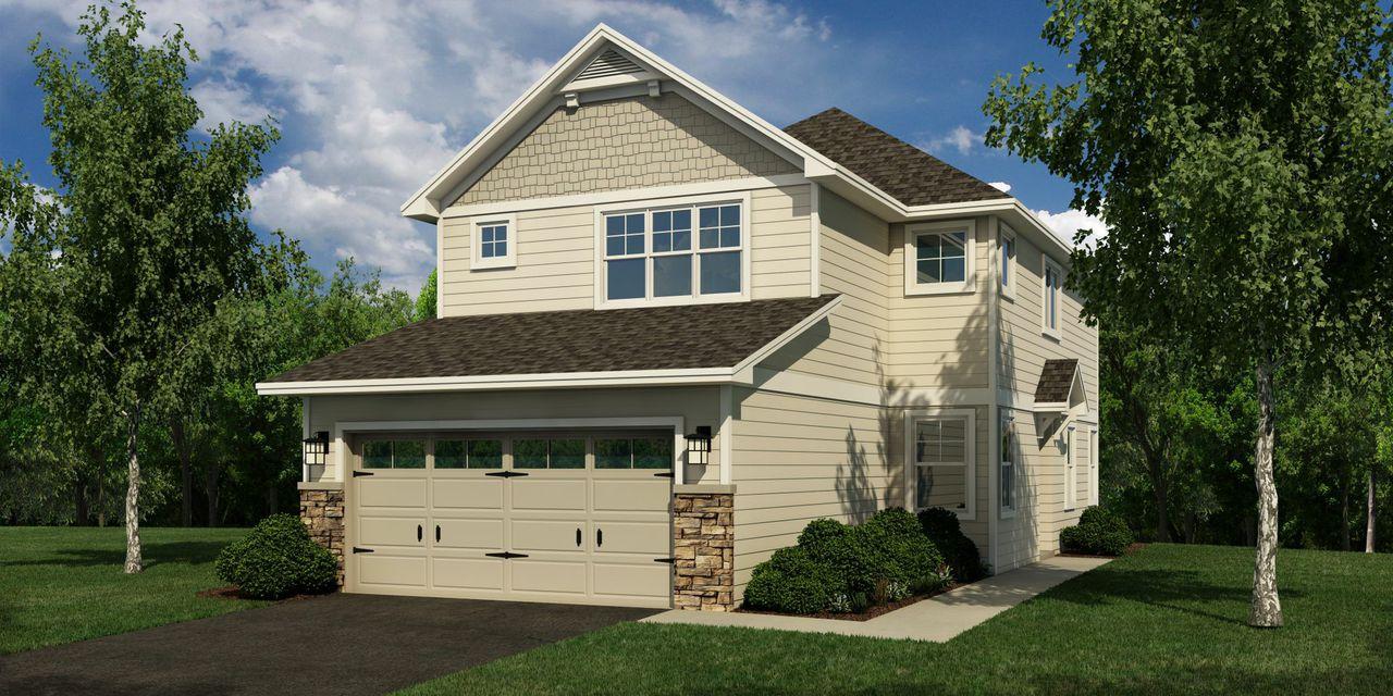 Blaine Minnesota Model Home Rendering