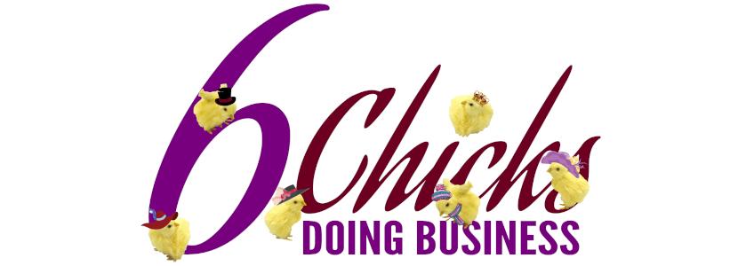 6 Chicks Doing Business Logo
