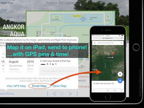 Mapcast and full screen slideshows