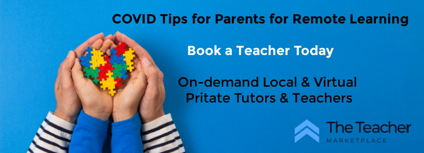 COVID-19 Education Tips for Parents in Remote Learning from The Teacher Marketplace