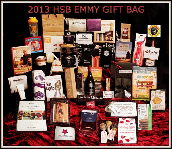 2013 Hollywood Swag Bag Emmy Gift Bag