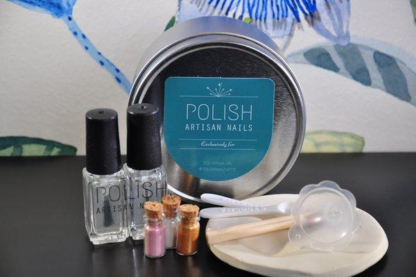 POLISH Artisan Nails create your own nail color