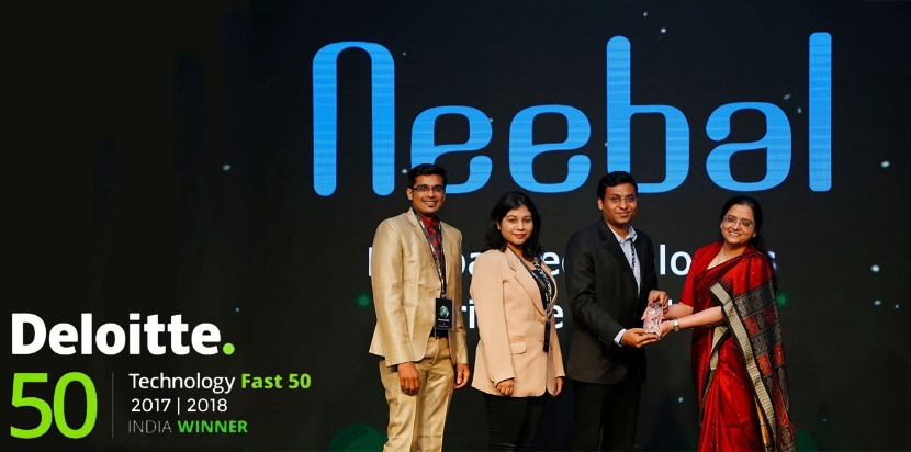 Deloitte India Winner Neebal Technologies