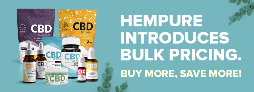 hempure cbd drops, cbd vape oil, cbd capsules, cbd pets, cbd gumdrops, cbd balm at bulk pricing