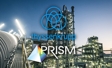 Thyssenkrupp selects ARES PRISM project controls software