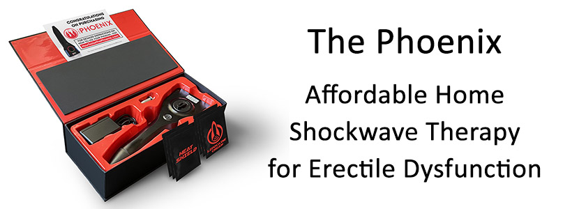 The Phoenix Home Shockwave Device for Erectile Dysfunction