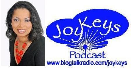 logo for Saturday Mornings with Joy Keys podcast
