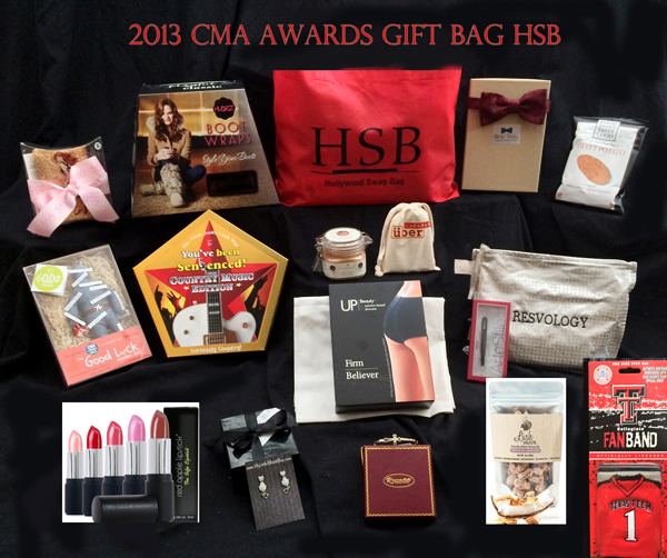 2013 CMA Awards Nominee Gift Bags By Hollywood Swag Bag