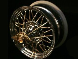 gold wire wheels