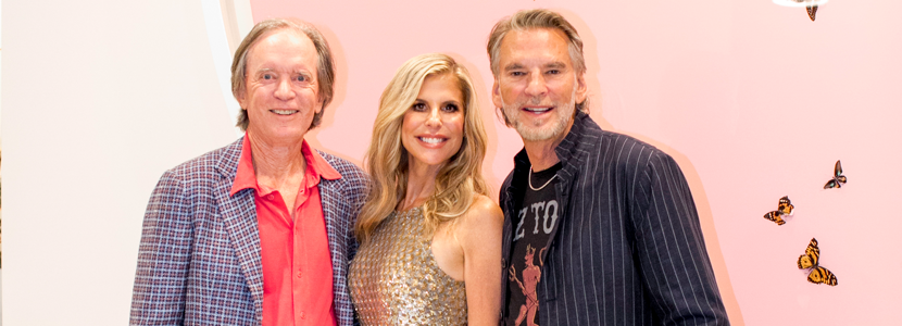 Bill Gross, Amy Schwartz and Kenny Loggins
