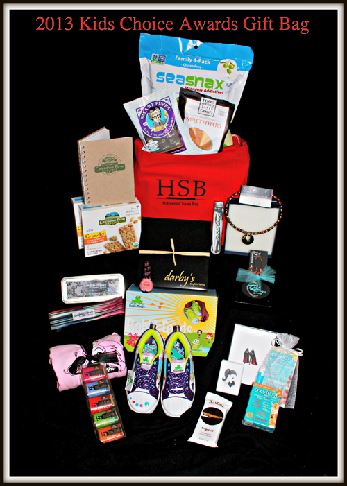 2013 Kids Choice Awards Gift Bag Hollywood Swag Bag