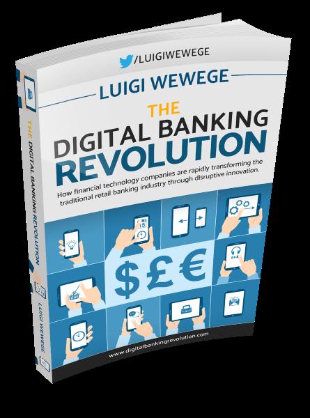 The Digital Banking Revolution - book by Luigi Wewege - 3D