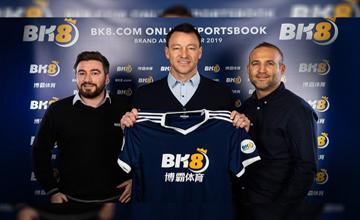 John Terry partnership with BK8