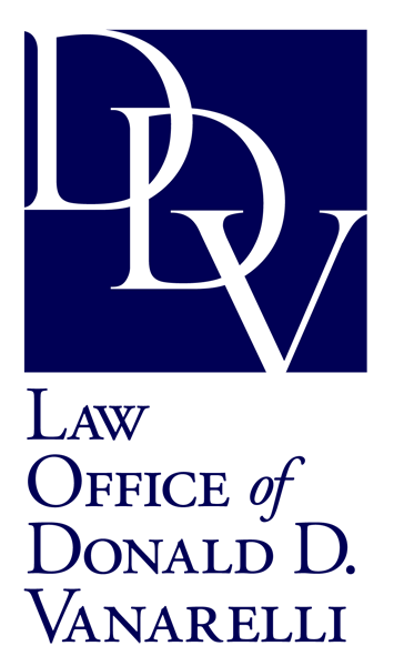 The Law Office of Donald D. Vanarelli logo.