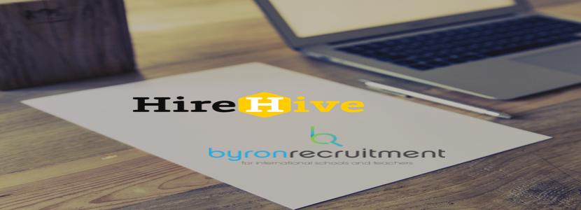 HireHive and Byron Recruitment partner for teachers job board