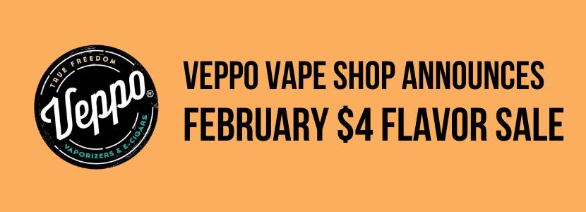 online vape store veppo announces e-liquid flavor sale