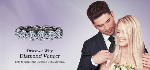 Diamond Veneer the finest cubic zirconia jewelry in the world
