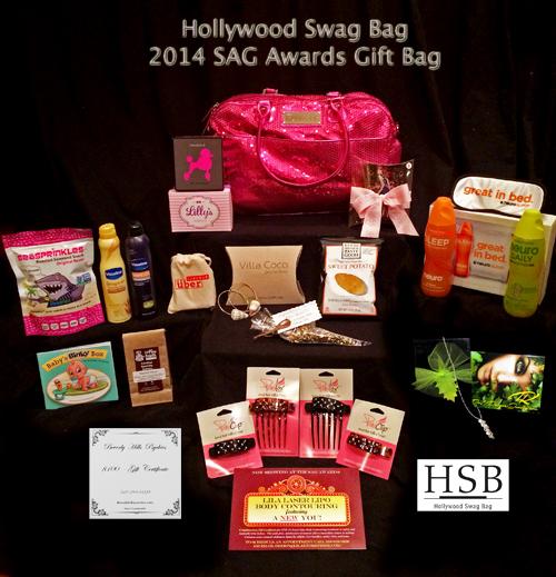 Hollywood Swag Bag 2014 Awards Gift Bag