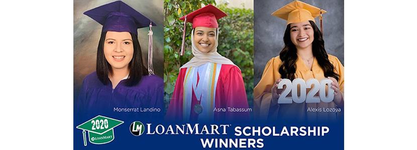 Winners of 2020 LoanMart Rancho Cucamonga Quakes Scholarship Announced
