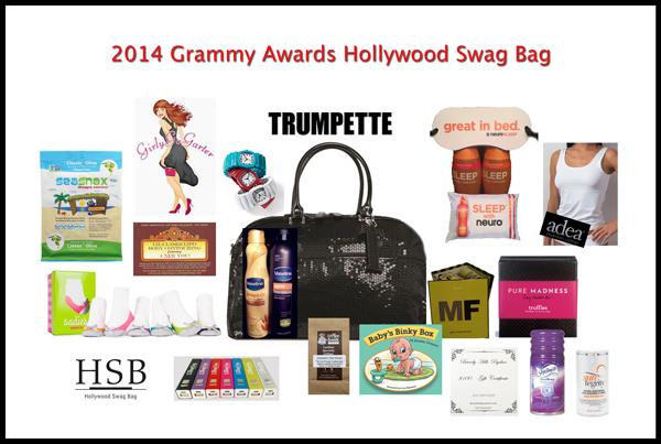 Hollywood Swag Bag 2014 Red Carpet Awards Gift Bags