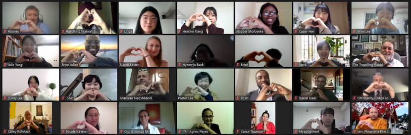 Religious leaders from 80 countries and 30 religions gather online to pray and encourage each other