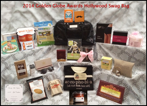 2014 Golden Globe Awards Gift Bag with Hollywood Swag Bag