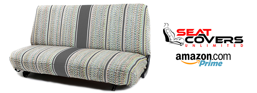 Seat Covers Unlimited releases truck bench seat covers via Amazon Prime