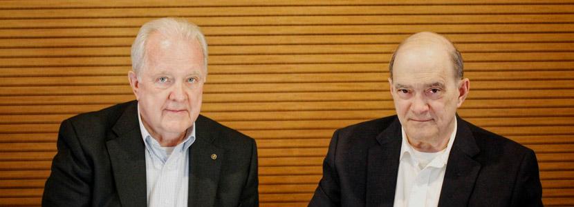 Bill Binney and Kirk Wiebe of Pretty Good Knowledge