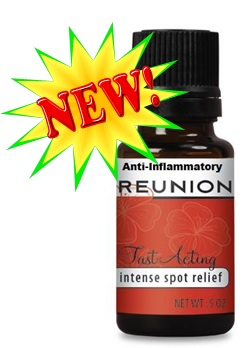 Reunion AI contains 11 therapeutic essential oils. Strong analgesic and anti-inflammation properties