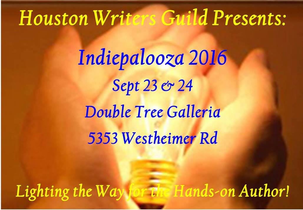 Houston Writer's Guild Presents IndiePalooza