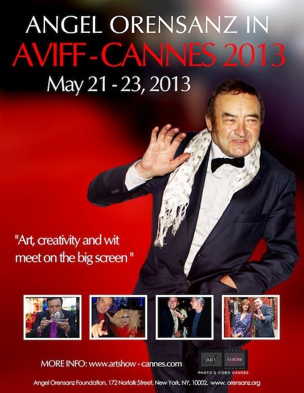 Angel Orensanz in the Aviff Cannes Film Festival 2013