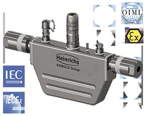 mass flow meter Coriolis Hydrogen Pressure Temperature Level
