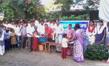 International Handwashing Day at a Bridge of Hope Centre