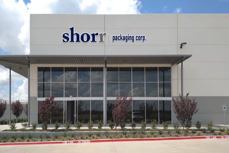 Shorr Packaging Expands into Texas