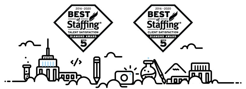 Artisan Talent wins 2020 Best of Staffing Diamond Award