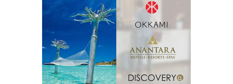 OKKAMI Anantara Hotel Guest Engagement App