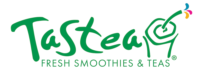Tastea logo drinks boba tea Long Beach Refreshing