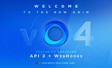 odin v4 featuring api 2 + webooks