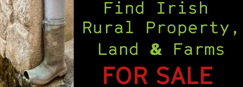 find irish rural agricultural farm land property